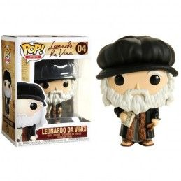 FUNKO FUNKO POP! LEONARDO DA VINCI BOBBLE HEAD KNOCKER FIGURE