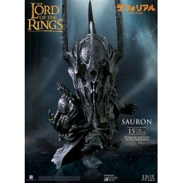 LORD OF THE RINGS SAURON DEFO REAL STATUE FIGURE STAR ACE