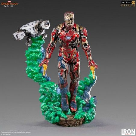 SPIDER-MAN FAR FROM HOME IRON MAN ILLUSION BDS ART SCALE STATUE