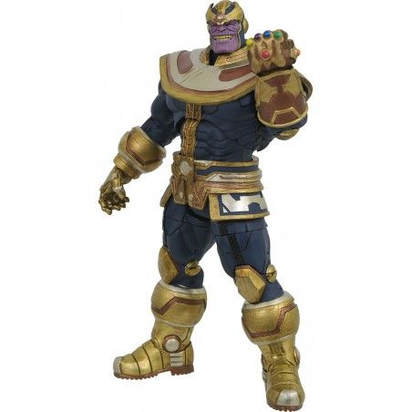 MARVEL SELECT THANOS INFINITY GAUNTLET ACTION FIGURE