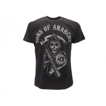 MAGLIA T SHIRT SONS OF ANARCHY SKULL