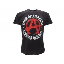 MAGLIA T SHIRT SONS OF ANARCHY LOGO
