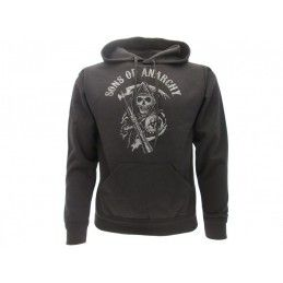 FELPA HOODIE SONS OF ANARCHY SKULL