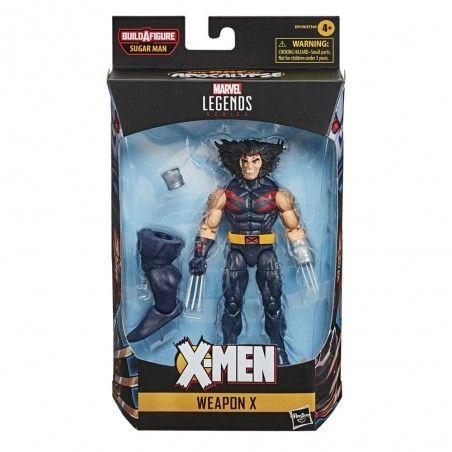 MARVEL LEGENDS X-MEN SET SUGAR MAN WEAPON X ACTION FIGURE
