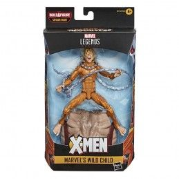 HASBRO MARVEL LEGENDS X-MEN SET SUGAR MAN WILD CHILD ACTION FIGURE
