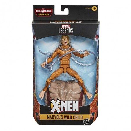 MARVEL LEGENDS X-MEN SET SUGAR MAN WILD CHILD ACTION FIGURE