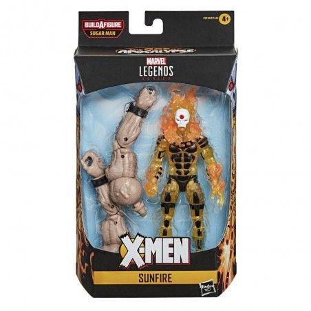 MARVEL LEGENDS X-MEN SET SUGAR MAN SUNFIRE ACTION FIGURE
