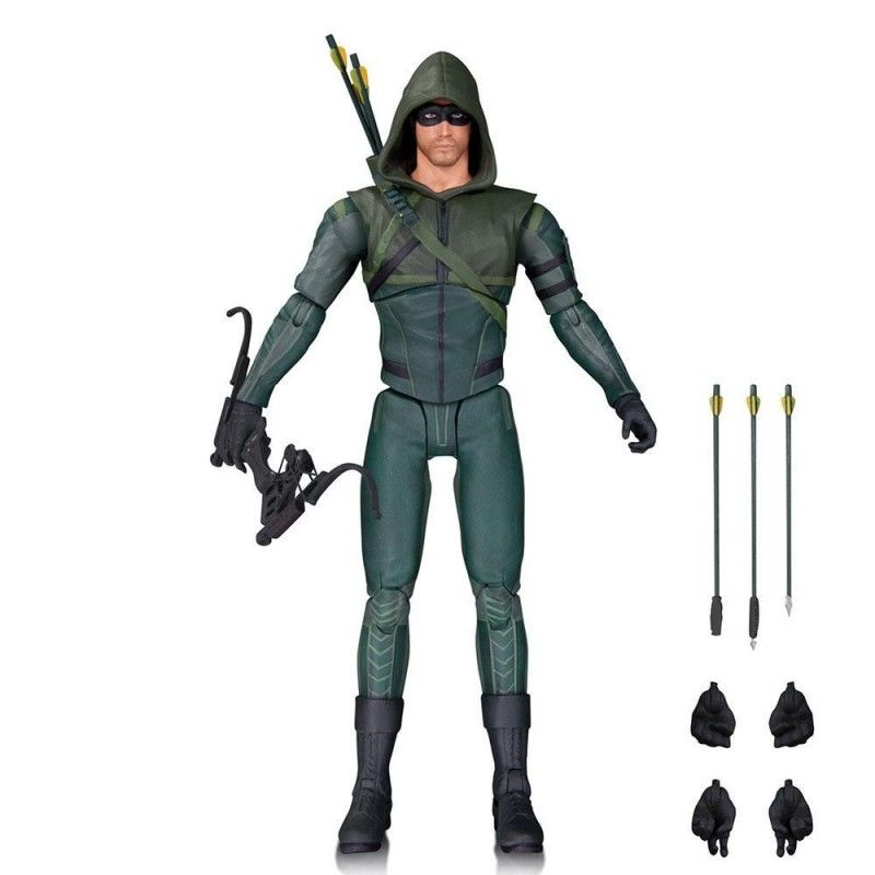 DC COLLECTIBLES ARROW SERIE TV - ARROW SEASON 3 OLIVER QUEEN ACTION FIGURE