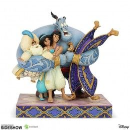 DISNEY ALADDIN GROUP STATUE FIGURE ENESCO