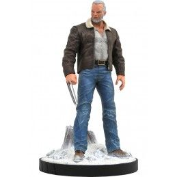 MARVEL PREMIER COLLECTION WOLVERINE OLD MAN LOGAN STATUE DIAMOND SELECT