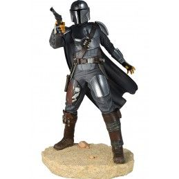 STAR WARS PREMIER COLLECTION THE MANDALORIAN MARK 3 FIGURE STATUE DIAMOND SELECT