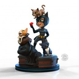 QUANTUM MECHANIX DC COMICS Q-FIG DIORAMA CATWOMAN STATUE FIGURE