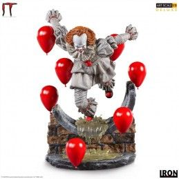 IRON STUDIOS IT CHAPTER 2 PENNYWISE ART SCALE DELUXE STATUE FIGURE