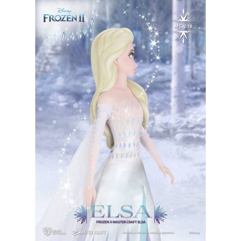 FROZEN 2 ELSA MASTER CRAFT STATUE FIGURE BEAST KINGDOM