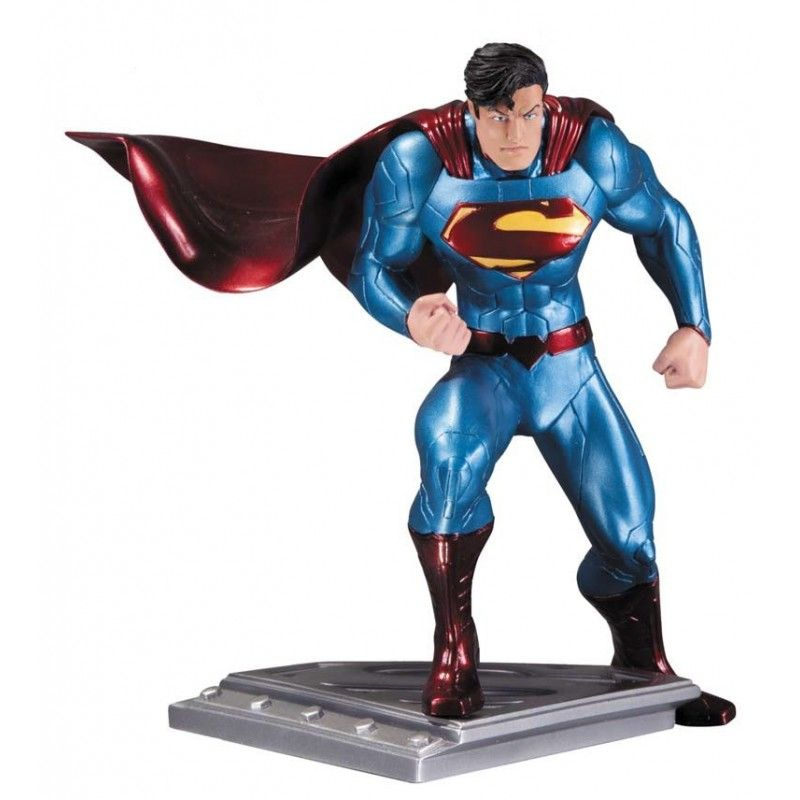 DC COMICS SUPERMAN THE MAN OF STEEL BY JIM LEE STATUE DC COLLECTIBLES