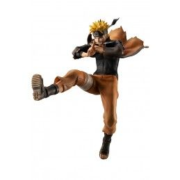 MEGAHOUSE NARUTO UZUMAKI SHINOBI WORLD WAR GEM STATUE