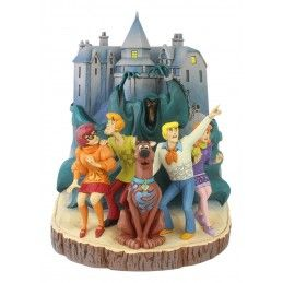 SCOOBY-DOO CARVED BY HEART STATUE FIGURE DIORAMA ENESCO