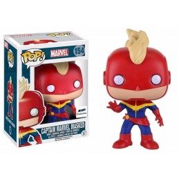 FUNKO POP! MARVEL CAPTAIN MARVEL MASKED BOBBLE HEAD KNOCKER FIGURE