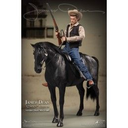 JAMES DEAN COWBOY DELUXE VERSION ACTION FIGURE STAR ACE