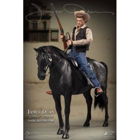 JAMES DEAN COWBOY DELUXE VERSION ACTION FIGURE