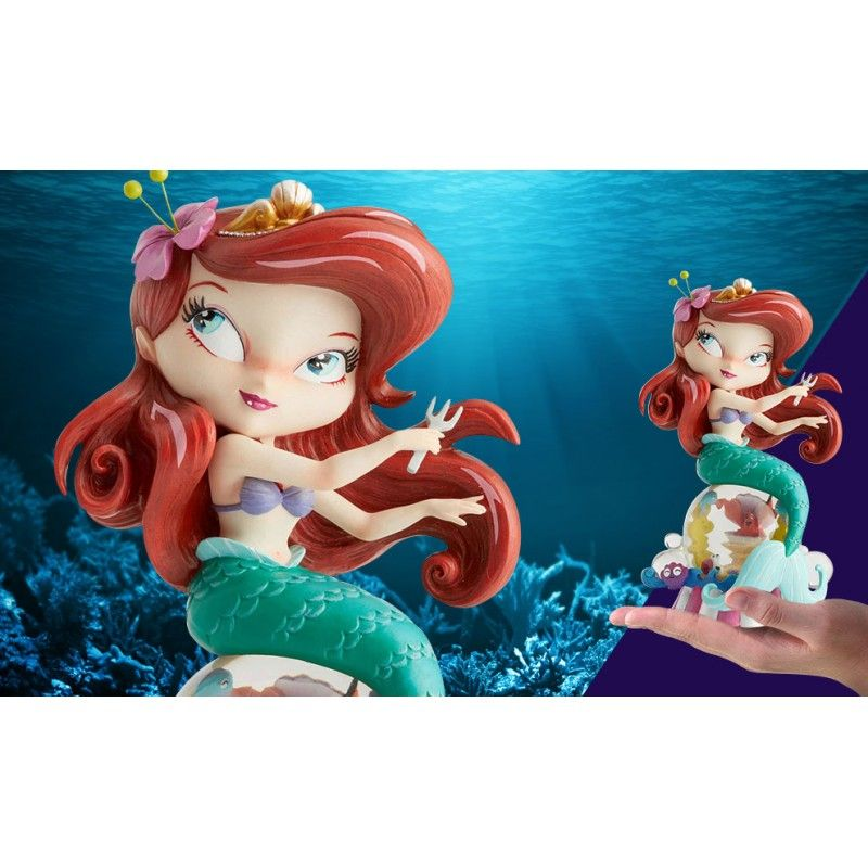 DISNEY THE LITTLE MERMAID ARIEL STATUE MISS MINDY FIGURE ENESCO