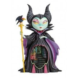 ENESCO DISNEY SLEEPING BEAUTY MALEFICENT STATUE MISS MINDY FIGURE
