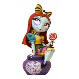 NIGHTMARE BEFORE CHRISTMAS SALLY STATUE MISS MINDY FIGURE ENESCO