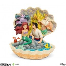 DISNEY THE LITTLE MERMAID ARIEL AND ERIC FIGURE DIORAMA ENESCO