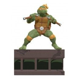 TEENAGE MUTANT NINJA TURTLES MICHELANGELO 23CM STATUE FIGURE PCS COLLECTIBLES
