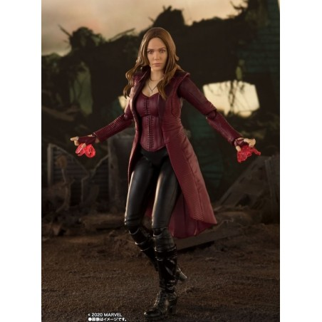 AVENGERS ENDGAME SCARLET WITCH S.H. FIGUARTS ACTION FIGURE