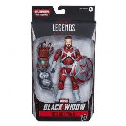 HASBRO MARVEL LEGENDS BLACK WIDOW RED GUARDIAN ACTION FIGURE