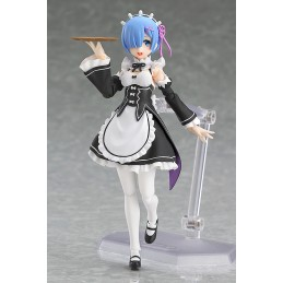 MAX FACTORY RE ZERO STARTING LIFE IN ANOTHER WORLD REM ACTION FIGURE