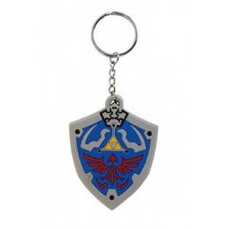 THE LEGEND OF ZELDA RUBBER KEYCHAIN PORTACHIAVI HYRULIAN CREST IN GOMMA KEYRING PYRAMID INTERNATIONAL