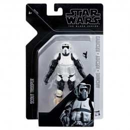 HASBRO STAR WARS THE BLACK SERIES SCOUT TROOPER ACTION FIGURE