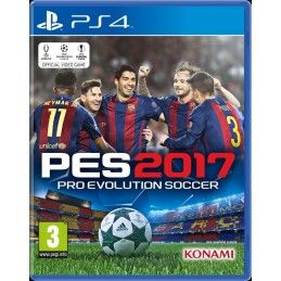PRO EVOLUTION SOCCER 2017 PES 17 PS4 NUOVO ITALIANO