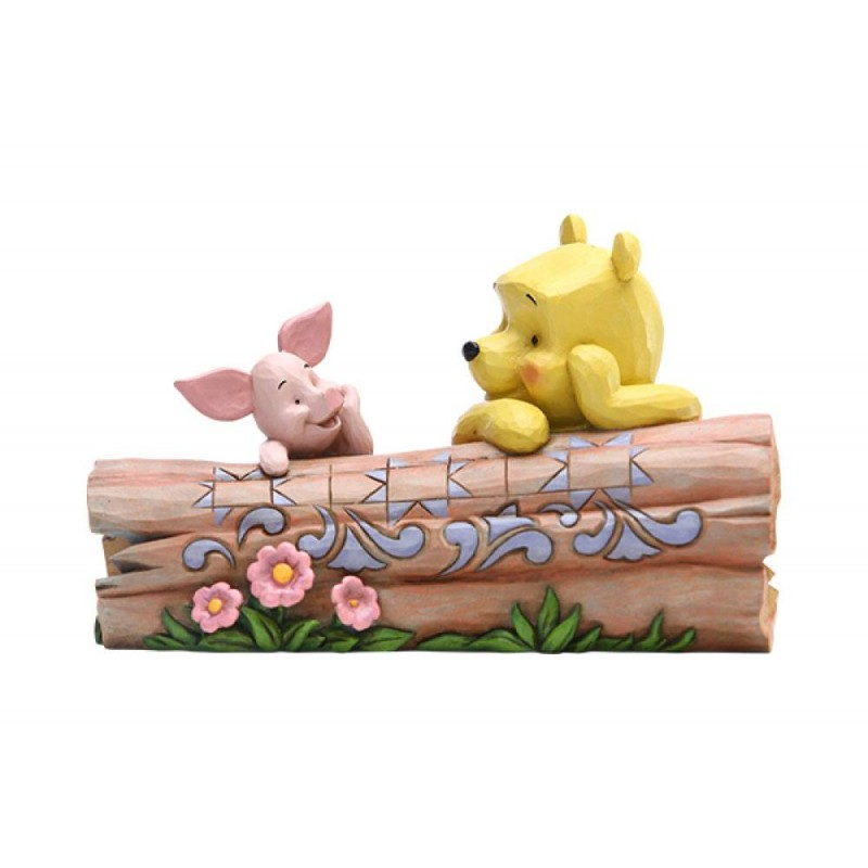WINNIE THE POOH AND PIGLET STATUE FIGURE ENESCO
