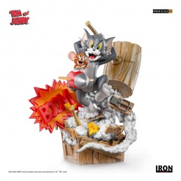 TOM AND JERRY 1/3 PRIME ART SCALE STATUE FIGURE IRON STUDIOS
