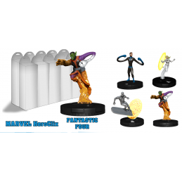 MARVEL HEROCLIX FANTASTIC FOUR BOOSTER PACK 5 MINIATURE WIZKIDS