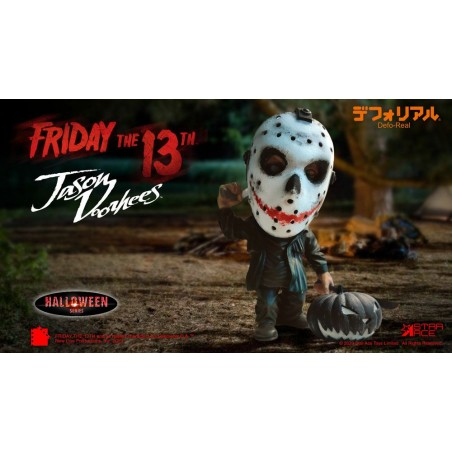 FRIDAY THE 13TH JASON VOORHEES HALLOWEEN DEFO REAL STATUE FIGURE