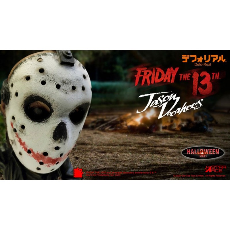 STAR ACE FRIDAY THE 13TH JASON VOORHEES HALLOWEEN DEFO REAL STATUE FIGURE