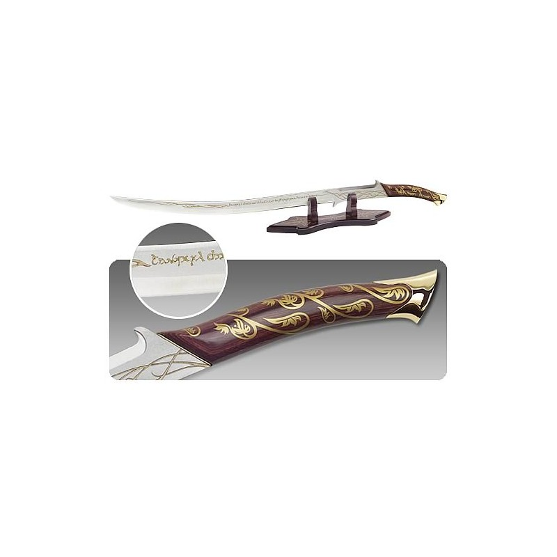LORD OF THE RINGS ARWEN SWORD HADHAFANG PROP REPLICA 1/1 UNITED CUTERLY BRANDS