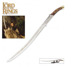 UNITED CUTERLY BRANDS LORD OF THE RINGS ARWEN SWORD HADHAFANG PROP REPLICA 1/1