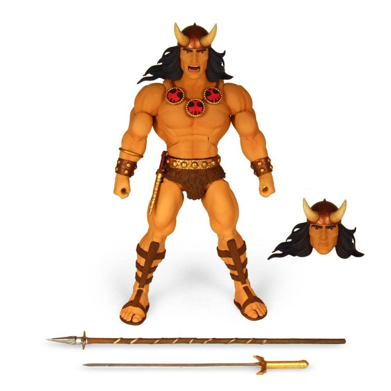 CONAN THE BARBARIAN COMIC DELUXE ACTION FIGURE SUPER7