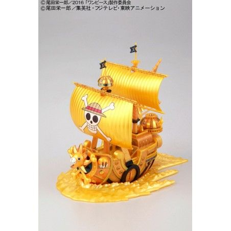 ONE PIECE GRAND SHIP COLLECTION THOUSAND SUNNY FILM GOLD MODEL KIT