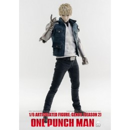 ONE-PUNCH MAN GENOS SEASON 2 CLOTHED 1/6 ACTION FIGURE THREEZERO