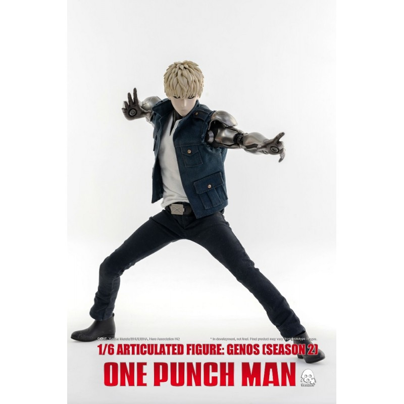 THREEZERO ONE-PUNCH MAN GENOS SEASON 2 CLOTHED 1/6 ACTION FIGURE