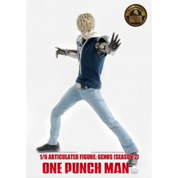 THREEZERO ONE-PUNCH MAN GENOS S2 CLOTHED DELUXE 1/6 ACTION FIGURE