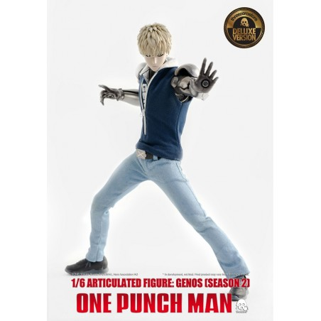 ONE-PUNCH MAN GENOS S2 CLOTHED DELUXE 1/6 ACTION FIGURE