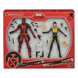 MARVEL LEGENDS DEADPOOL AND NEGASONIC ACTION FIGURE HASBRO