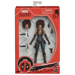 MARVEL LEGENDS DEADPOOL 2 DOMINO ACTION FIGURE HASBRO